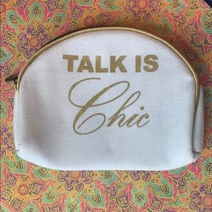 IPSY Talk is Chic Cosmetic Bag